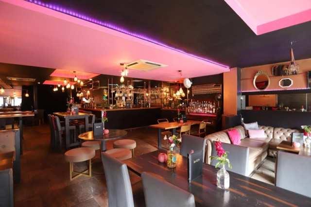 beGIN Hilton Grosvenor gin bar Glasgow West End