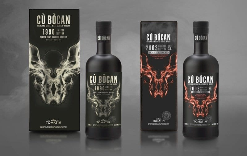 Cu Bòcan whisky tomatin limited edition