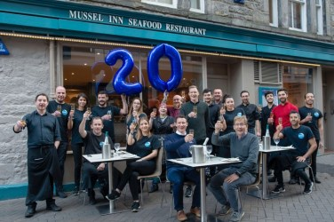 Mussel inn Glasgow edinburgh Birthday