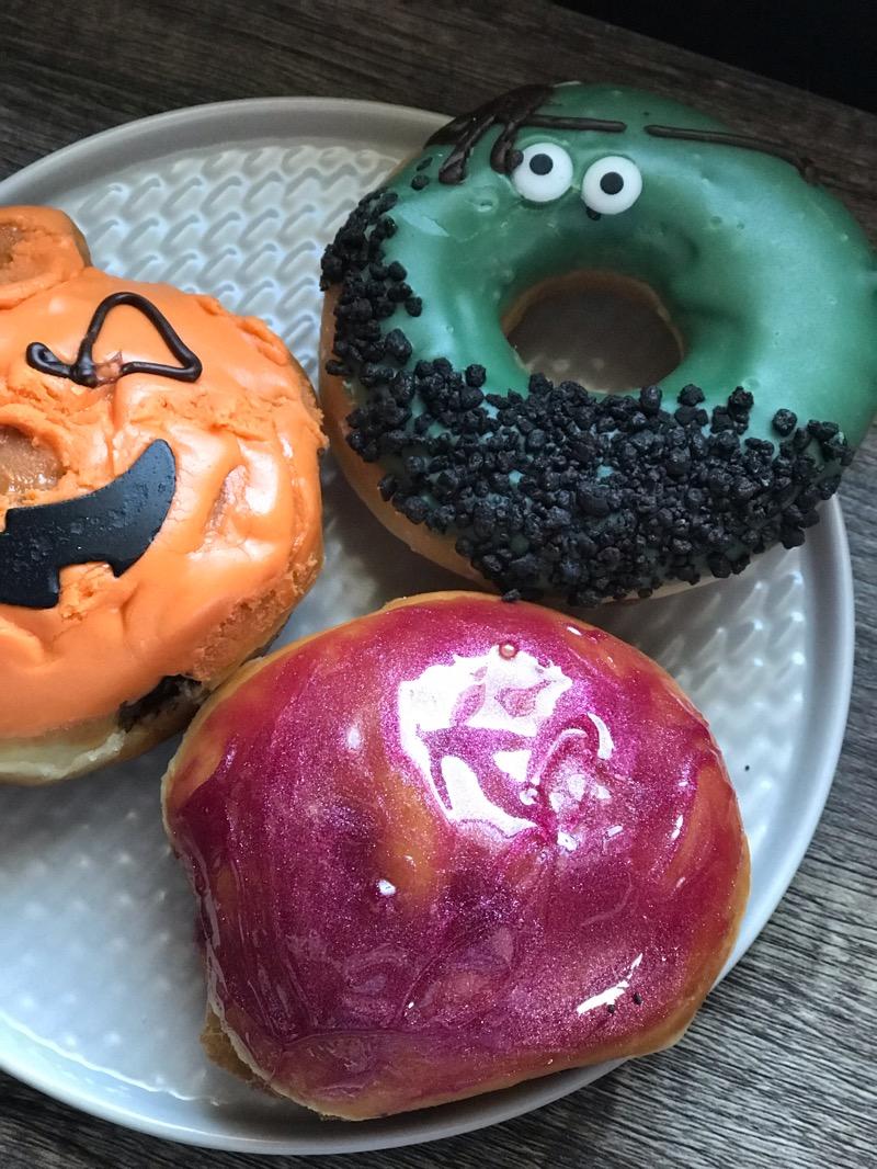 Halloween doughnuts Krispy Kreme