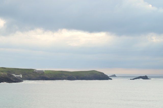 The Headland Hotel - cliff view