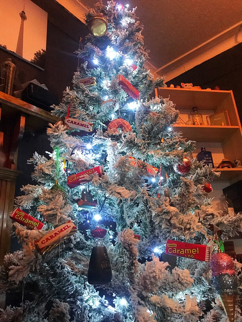 Glasgow foodie Christmas tree