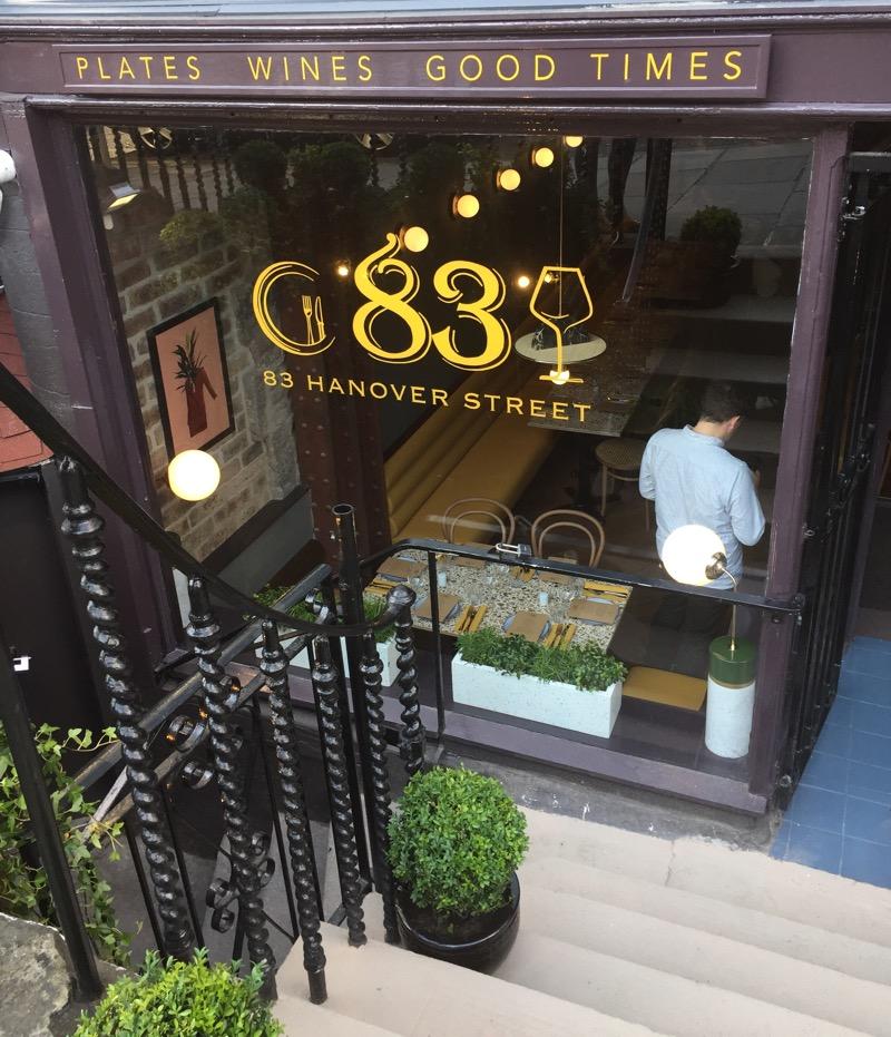 L'art du vin 83 Hanover Street event edinburgh