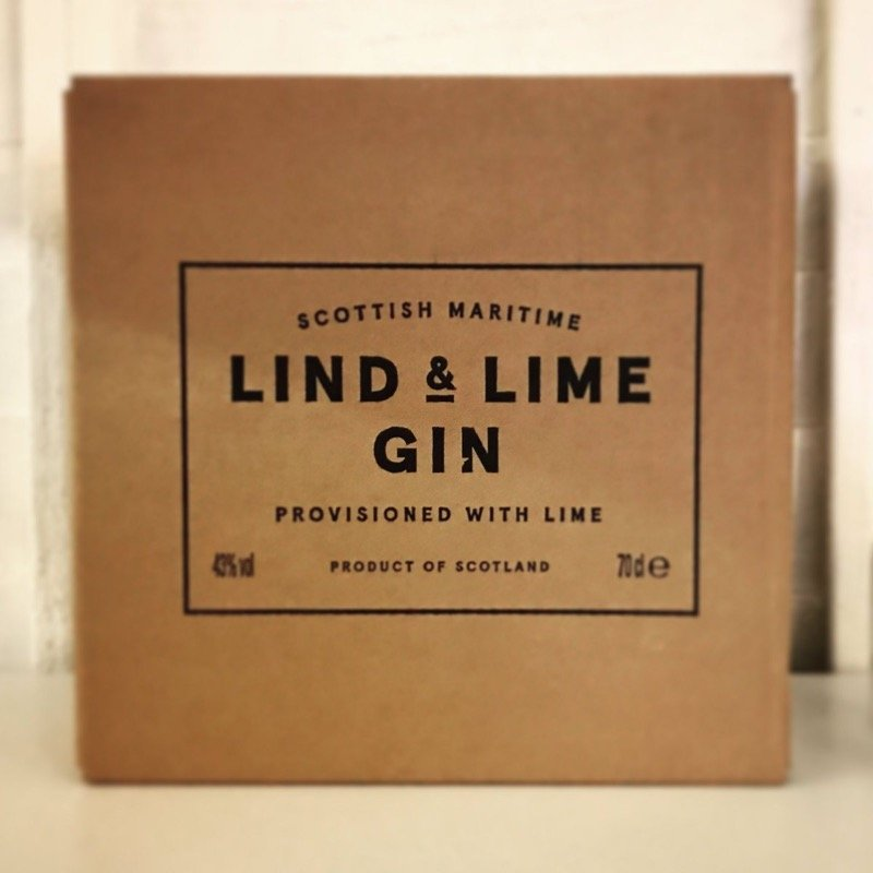 Lind and lime gin port of Leith Distillery