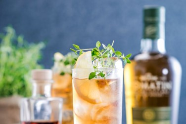 Tomatin Free Birness highball cocktail