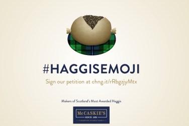 haggis emoji mccaskie butchers