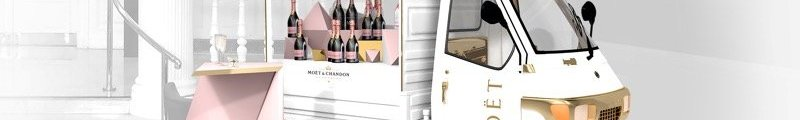 Moet and Chandon champagne truck scotland