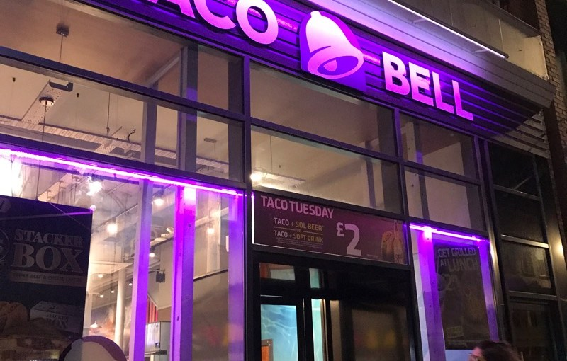 Food review: Taco Bell, Sauchiehall Street, Glasgow