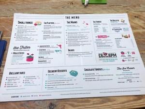 Brel Glasgow West End fondue menu