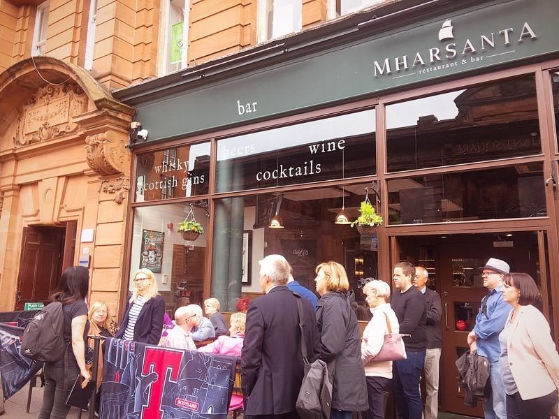 scottish trad trail Mharsanta Glasgow music tour
