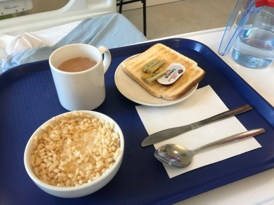Breakfast southern general Glasgow Queen Elizabeth Hospital