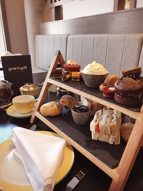 Maldron hotel City Centre Belfast afternoon tea