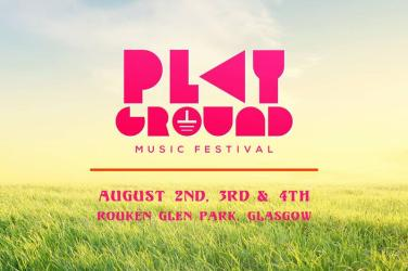 Playground music festival Glasgow