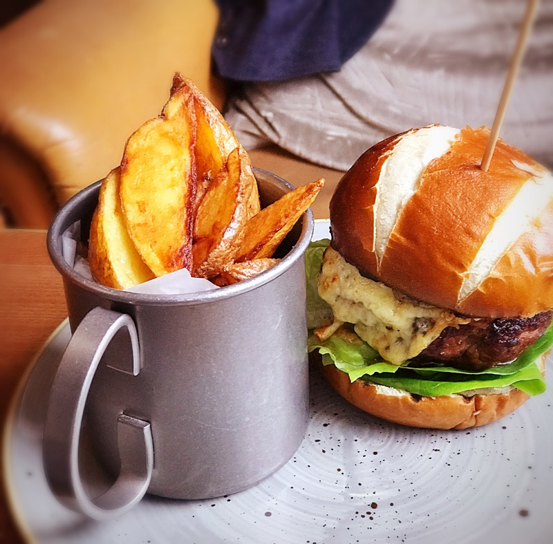Badger and co Edinburgh burger