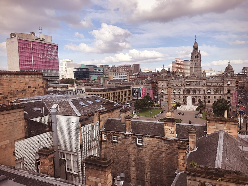 Native Glasgow penthouse apartment View