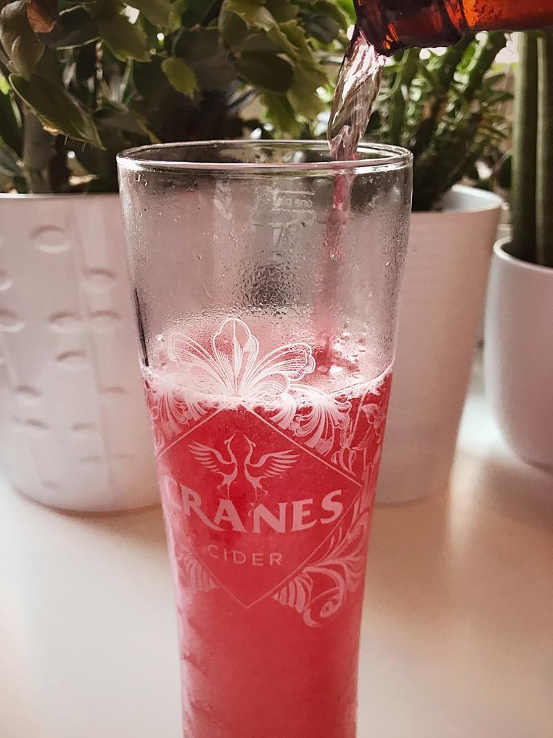 Cranes Cranberry Cider Review