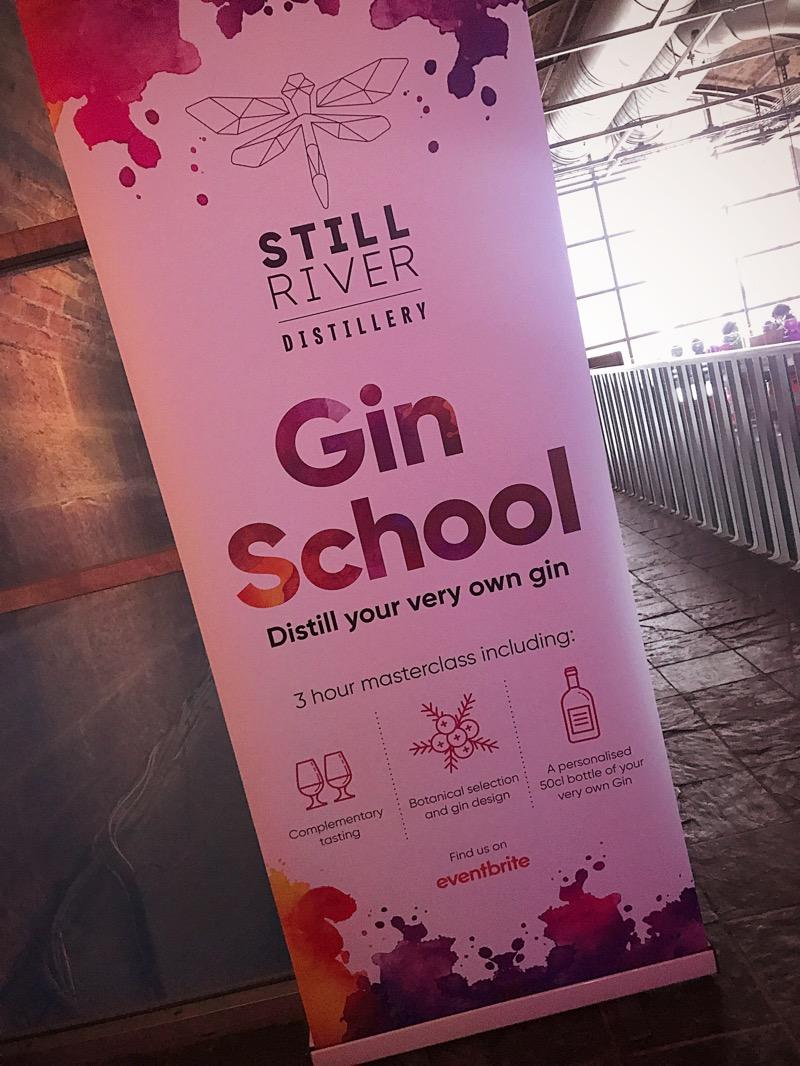 Still River gin school platform arches Glasgow