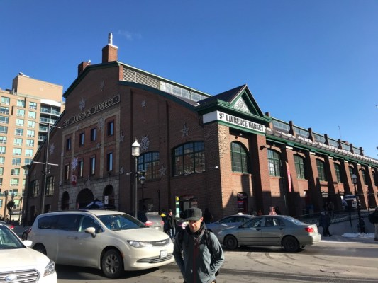 Visiting St. Lawrence Market, Toronto, Canada