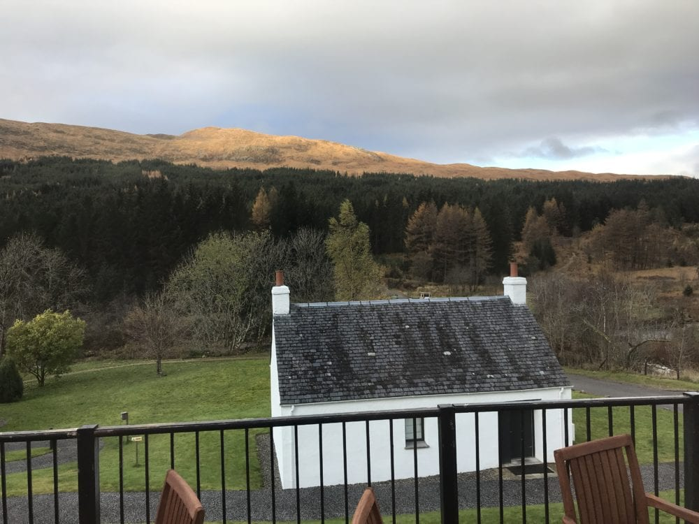 Bridge of Orchy hotel view restaurant