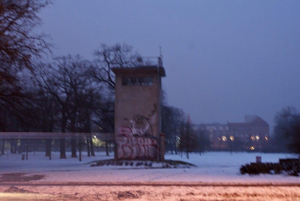 Berlin Wall Watchtower