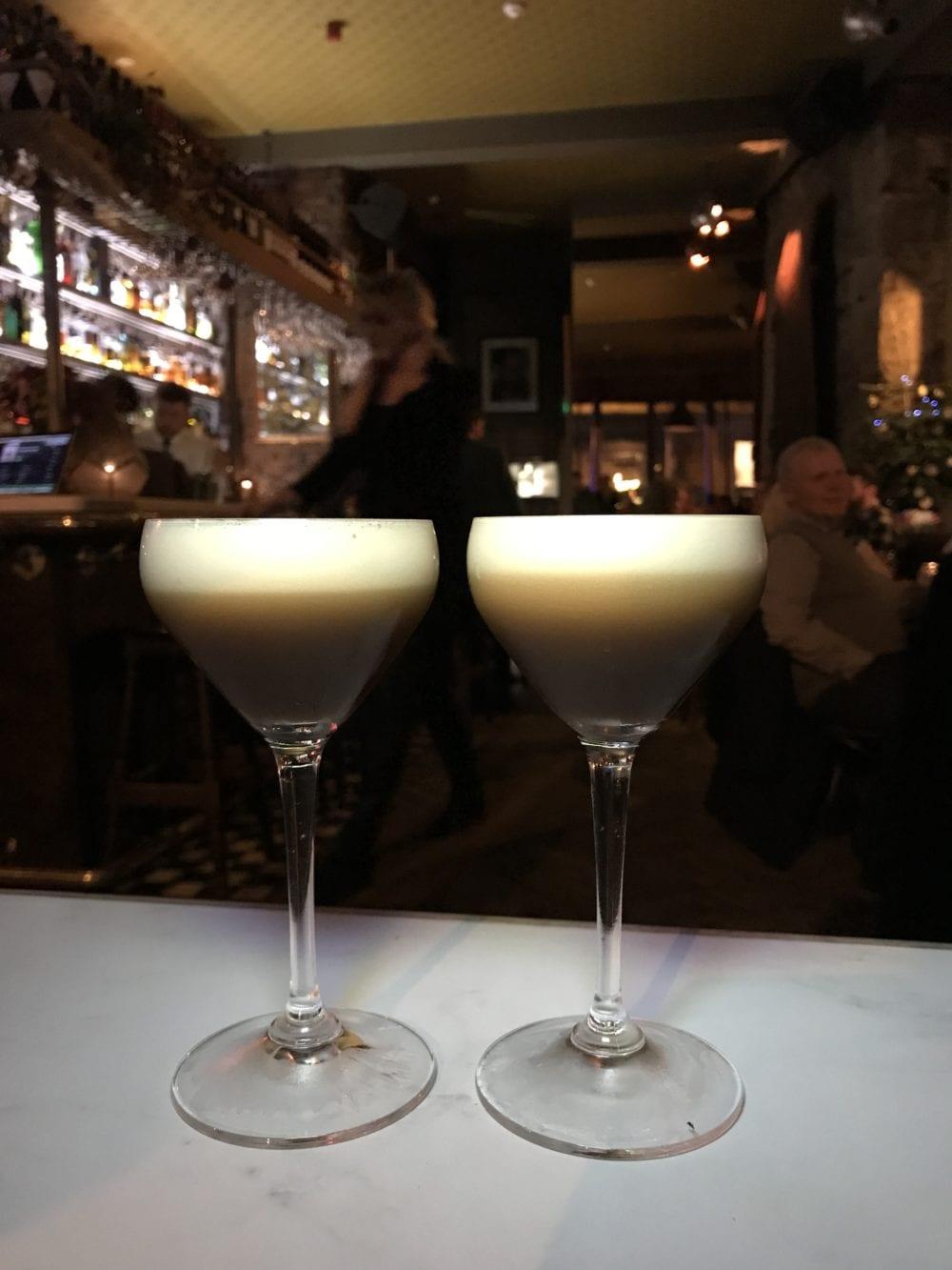 Espresso martini Kelvingrove cafe Veuve cliquot champagne grotto