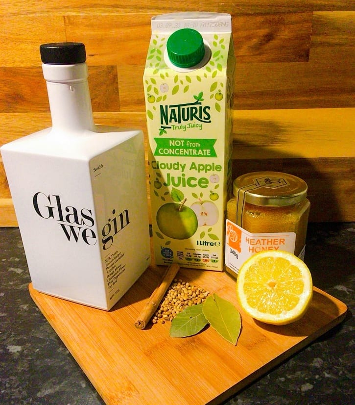 foodie explorers glaswegin mulled gin recipe
