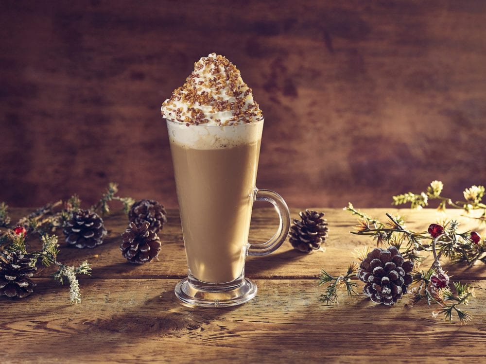 monin praline latte