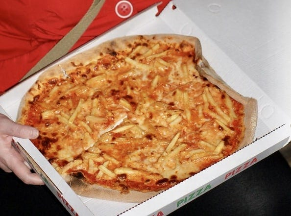 Venice Italy Pizza al Volo