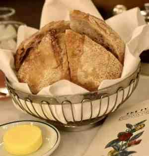 The Ivy glasgow burns night bread