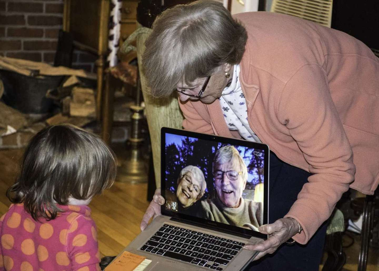 Grandparent Skype