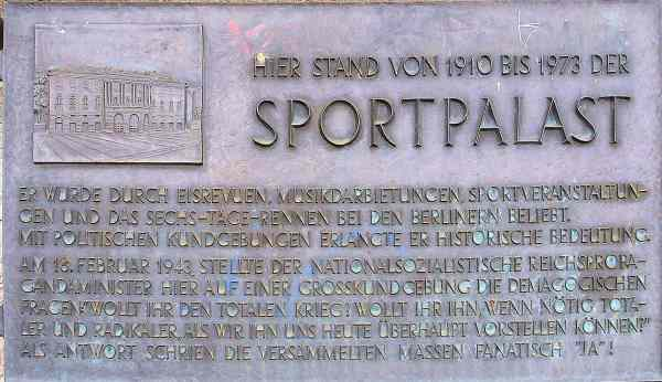 Sportpalast berlin
