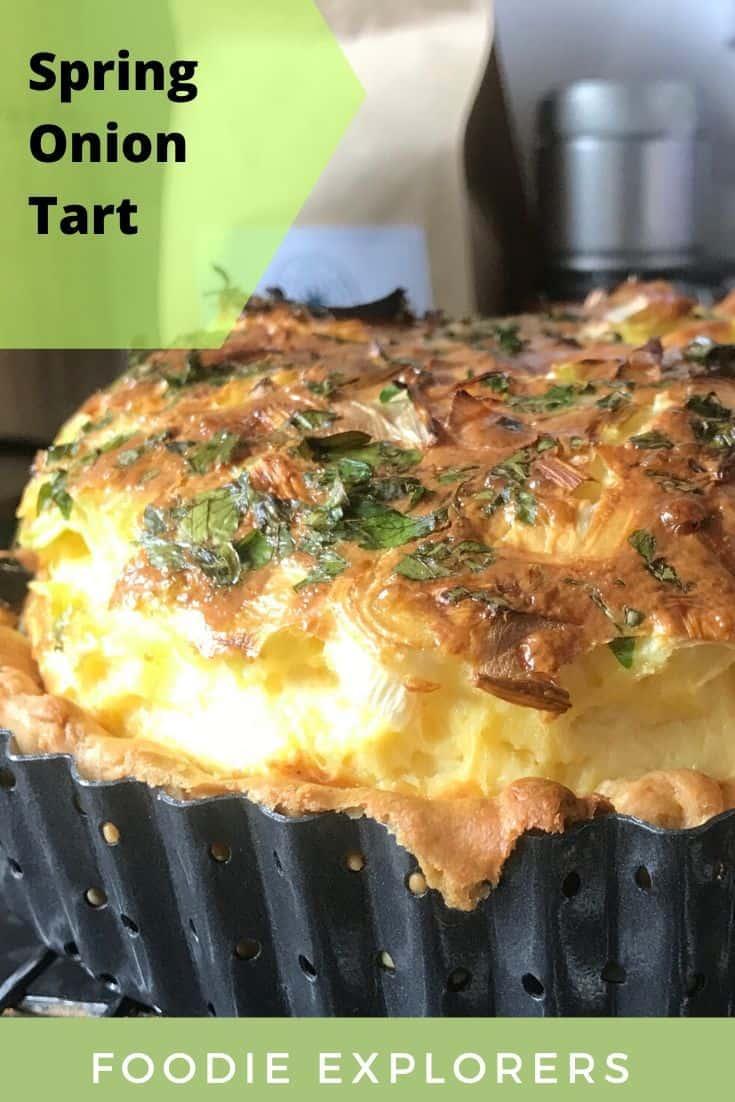 spring onion tart recipe