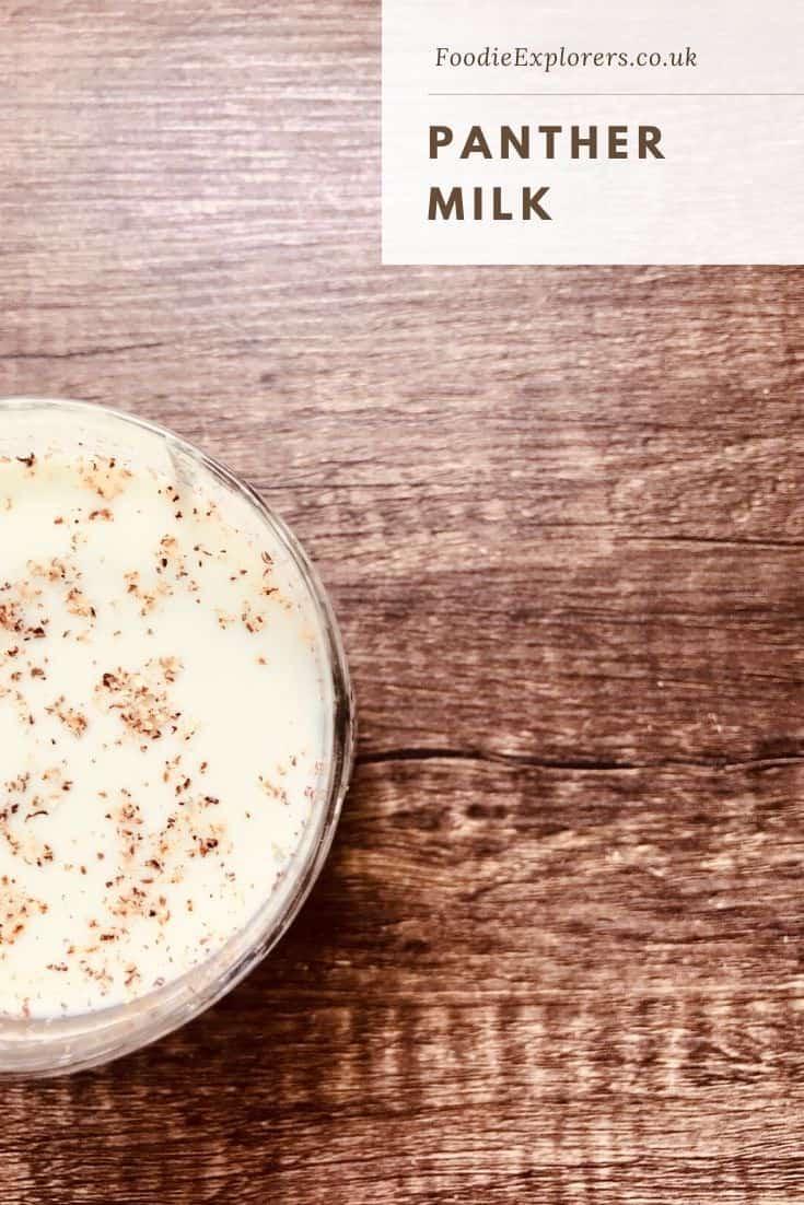 panther milk recipe