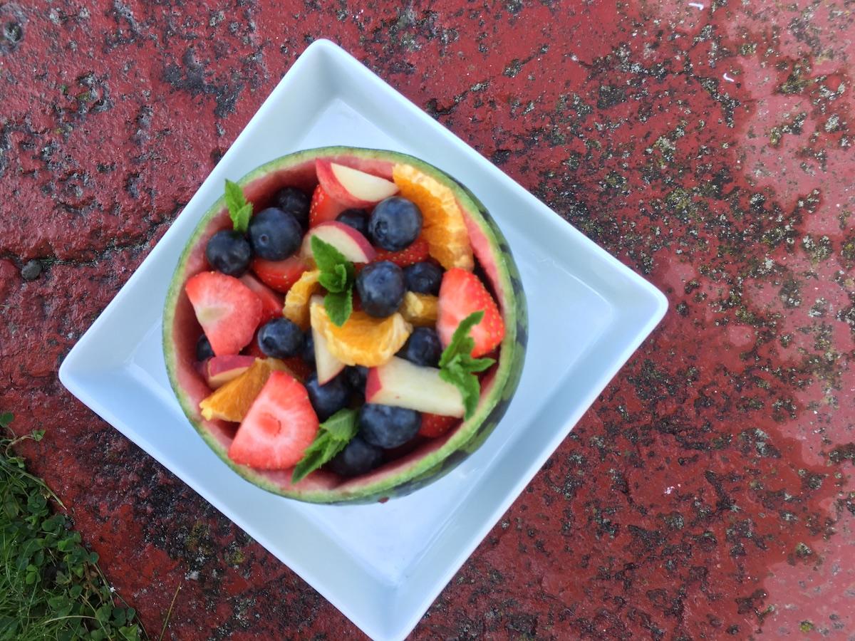 Maureen Clark Melon Salad