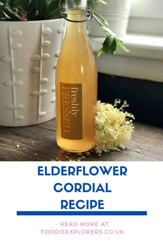elderflower cordial pinterest