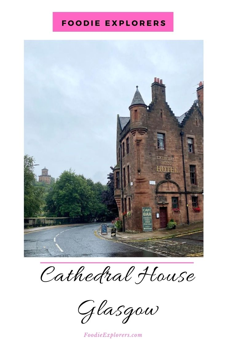 cathedral house necropolis glasgow pinterest pin