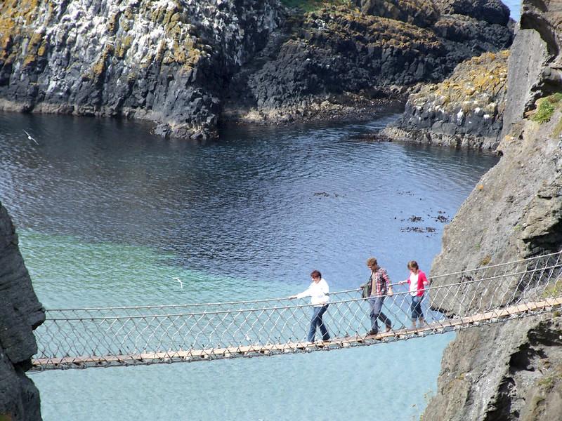 pre covid carrick a rede bridge
