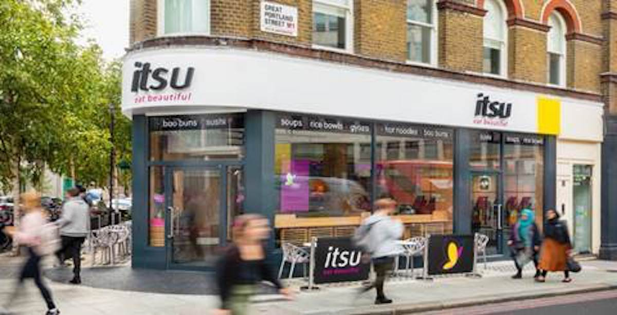 Sushi robots are more at itsu store of the future