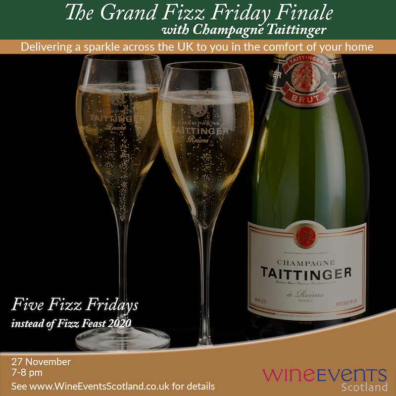 Taittinger wine events scotland