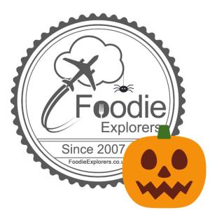 foodie explorers logo halloween