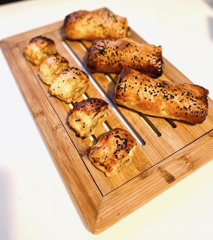 pork sage apple sausage rolls recipe baked 1