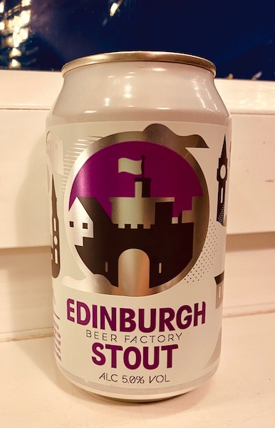 Edinburgh Beer Factory Edinburgh Stout