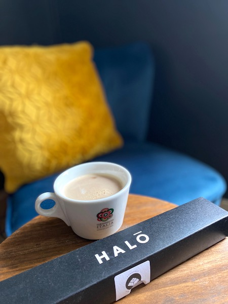 halo coffee and seat