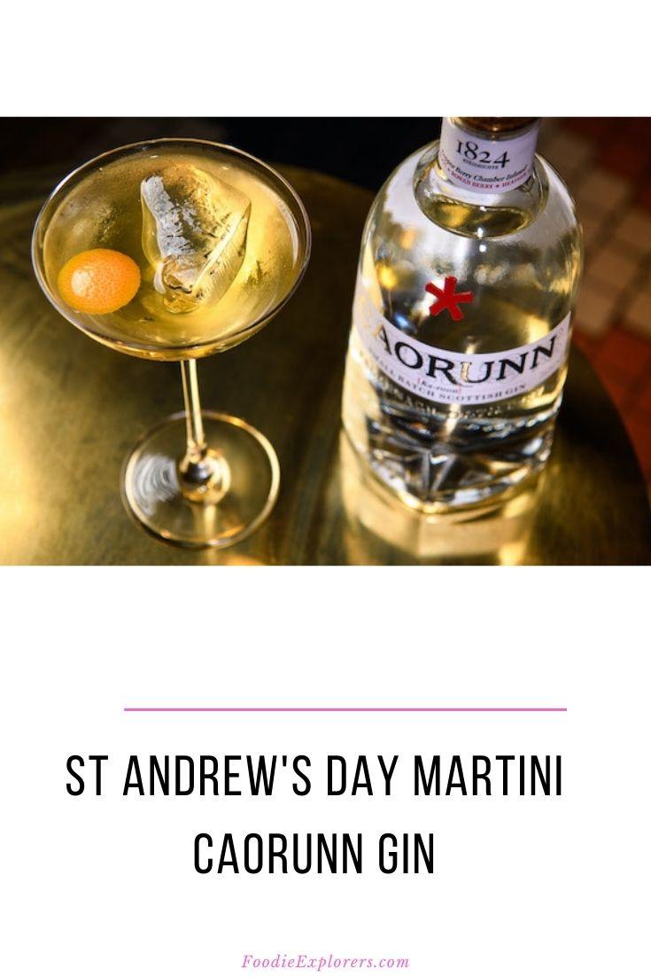 st andrew's day martini pinterest
