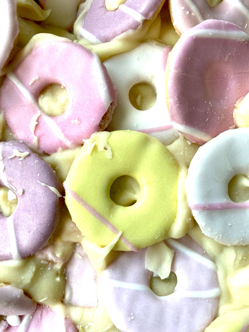 party ring rocky road recipe