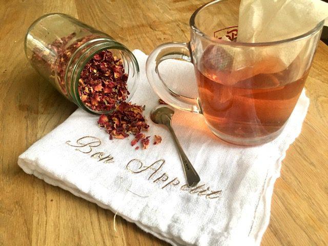Aromatic Rose Petal Tea