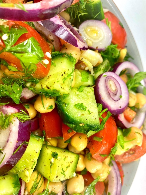 chickpea salad recipe 2