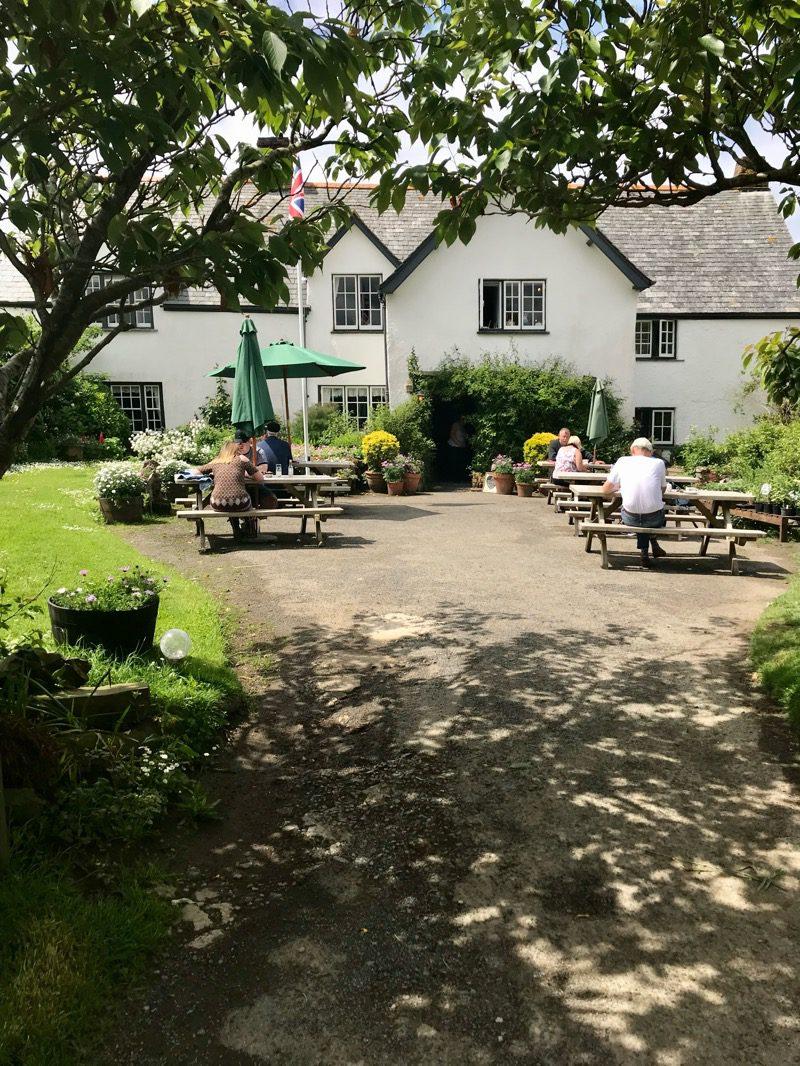 Rectory tearoom morwenstow Cornwall
