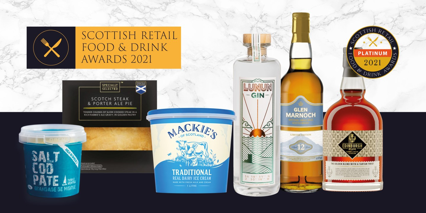 Scottish retail food and drink awards