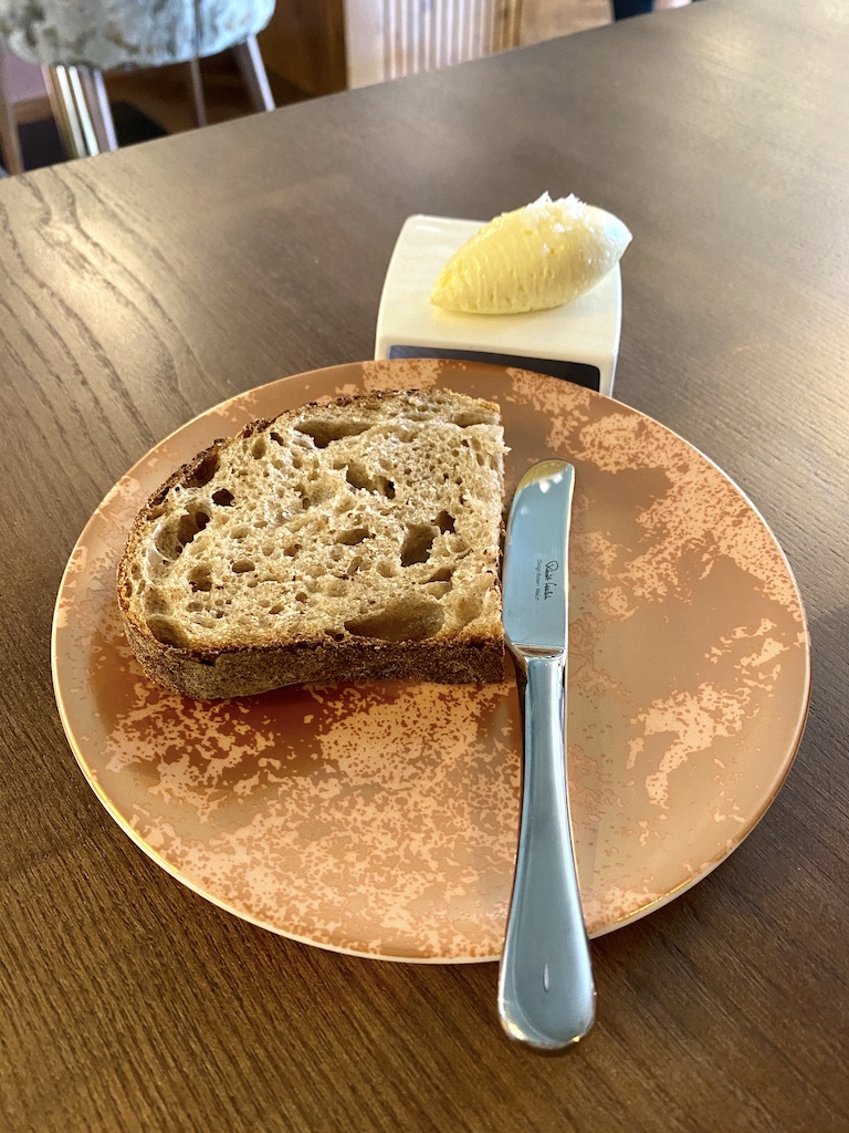 Sourdough bread and whipped butter Unalome by Graeme Cheevers